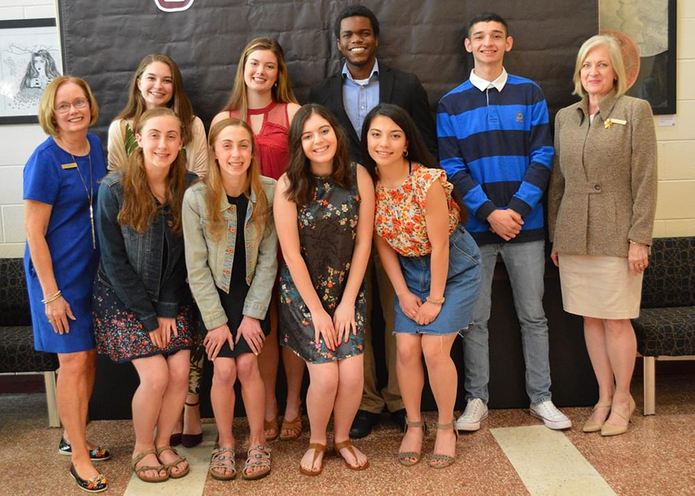 Prairie Ridge High School Scholarship Recipients